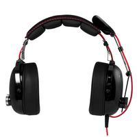 ARCTIC headset: P533 Racing - Zwart, Rood