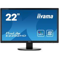 Iiyama monitor: ProLite 21.5'' LCD monitor - Zwart