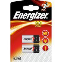 Energizer batterij: CR123/CR123A - Zilver