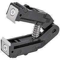 Knipex stripping gereedschap: 0.03 - 10.0 mm², Kunststof/Gereedschapsstaal - Zwart, Zilver