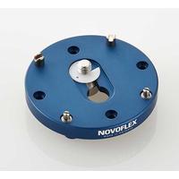 Novoflex statief accessoire: Circular plate - for 6x6 medium format cameras - Blauw
