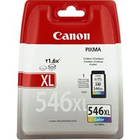 Canon inktcartridge: CL-546XL - Cyaan, Magenta, Geel