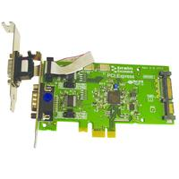 Brainboxes interfaceadapter: 2 x RS232, DB9, 400mA, 3.3V - Groen