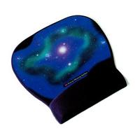 3M Precise™ Mousing Surface with Gel Wrist Rest MW311BE, Black