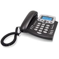 Profoon dect telefoon: TX-650 - Zwart, Zilver
