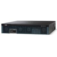 Cisco router: 2951 - Zwart, Roestvrijstaal