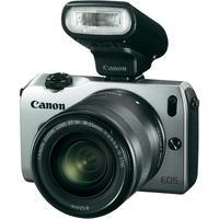 Canon EOS M set: spiegelreflexcamera, objectief EF-M 18-55 mm