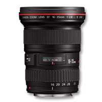 Canon camera lens: EF 16-35mm f/2.8L II USM - Zwart