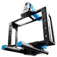 Walimex tripod: pro DSLR Cage Video Cage 5D Mark II etc. - Zwart, Blauw