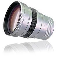 Raynox camera lens: 2.2x, 2-group/4-element, 55mm, 37mm, 105g, Black - Zwart