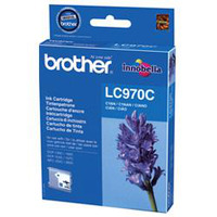 Brother inktcartridge: LC-970CBP Blister Pack - Cyaan