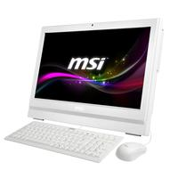 "MSI all-in-one pc: Wind Top Intel Pentium G3250 (3M Cache, 3.2 0 GHz), 50.8 cm (20 "") HD+ (1600x900) LED Multi-Touch, ....."