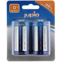 Jupio batterij: 4x Alkaline D - LR20, 1.5V - Blauw