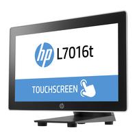 HP standaard: Monitorstandaard voor L7016t - Zwart, Zilver