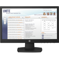 HP V197 Monitor - Zwart