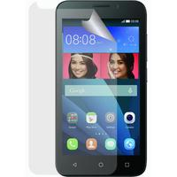 Azuri screen protector: Duo screen protector voor Huawei Y5, Ultra Clear - Transparant