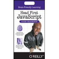 O'Reilly Media Head First JavaScript Code Magnets algemene utilitie