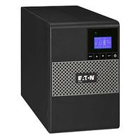 Eaton UPS: 850VA, 600W, 1 x C14, 6 x C13, 1 x USB, 1 x RS232, 1 x 1 mini-Terminal Block, LCD, Tower - Zwart