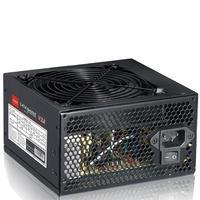MS-Tech power supply unit: 550 Watt, ATX 2.3, 20 + 4 pin, 120mm fan, Black - Zwart