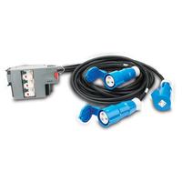 APC energiedistributie: Power Distribution Modular 3x1 POLE 3 Wire 32A