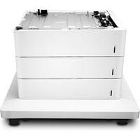 HP Color LaserJet 3x550 papierinvoer en standaard Papierlade - Wit
