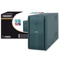 Eminent UPS: UPS 600VA - Zwart