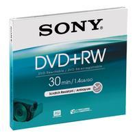 Sony DVD: 8-cm herschrijfbare 1000x-DVD+RW-disc, DPW30A.