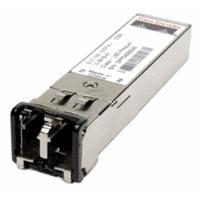 Cisco netwerk tranceiver module: 1/2-Gbps Fibre Channel and Gigabit Ethernet-Shortwave, SFP, LC, Spare