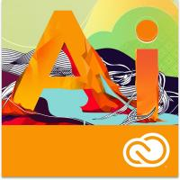 Adobe desktop publishing: Illustrator CC - Engels - 1 jaar