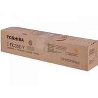 Toshiba cartridge: T-FC35-Y - Geel