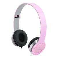 LogiLink headset: HS0032 - Roze
