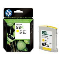 HP inktcartridge: 88XL originele gele inktcartridge - Geel
