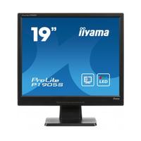 Iiyama monitor: ProLite LED-blacklit monitor met protective-hardglass panel - 19 inch - Zwart