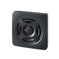 PATLITE Slim body MP3 annunciator, DC12-24V, PNP; Dark gray Alarm ringer - Grijs