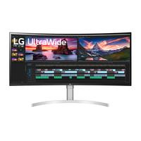 "LG 38"" / 95.29 cm, IPS, 3840 x 1600, Curved, 21:9, 75, 1ms, 1000:1, HDMI, DisplayPort, Thunderbolt, Headphone Out, ....."