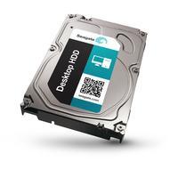 "Seagate interne harde schijf: Desktop HDD 4TB SATA III 3.5"" - Roestvrijstaal"