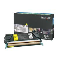Lexmark toner: Toner, 5000 pages, Yellow, High Yield, Return Program Corporate - Geel