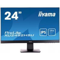 """Iiyama monitor: ProLite XU2492HSU-B1 23,8"""" Full HD IPS - Desktop - Zwart"""