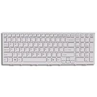ASUS Keyboard (Nordic), 348mm, Isolation, White Notebook reserve-onderdeel - Wit