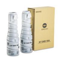 Konica Minolta toner: Toner DI-181, Zwart, 2 x 410g, 11500 Pagina's
