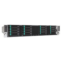 Intel behuizing: Server Chassis H2216XXKR2 - Zwart, Grijs