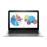 HP laptop: EliteBook Folio G1 - Zilver (Renew)