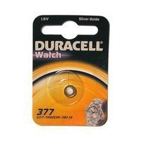 Duracell batterij: D377 - Zilver