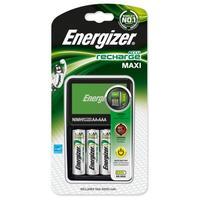 Energizer oplader: Charger + 4x AA 2000mAh - Multi kleuren