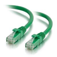 C2G netwerkkabel: 0,5 m Cat5e Booted Unshielded (UTP) netwerkpatchkabel - groen