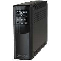 PowerWalker VI 1200 CSW IEC UPS - Zwart