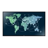 Samsung public display: Smart Signature ED65D 65'' scherm - Zwart