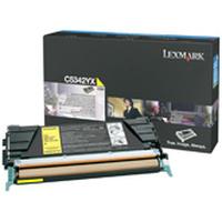 Lexmark toner: C534 7K gele tonercartridge - Geel
