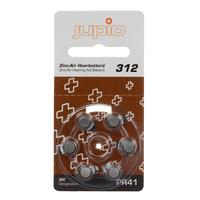 Jupio batterij: Hearing Aid 312 Zinc Air Brown PR41 6 pcs