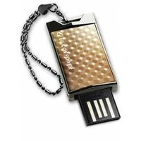 Silicon Power USB flash drive: 4GB Touch 851 - Goud